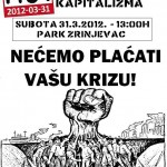 M31: Solidarno protiv kapitalizma!
