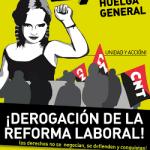 La CNT convoca Huelga General el próximo 29 de Marzo
