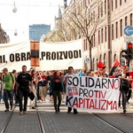 Anti-capitalist action in over 30 cities – and we're here to stay!