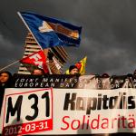 M31: Preludio en Frankfurt a las protestas anticapitalistas conjuntas a nivel europeo